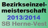 Bezirkseinelmeisterschaft 2013/2014