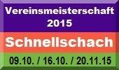 Vereinsmeisterschaft Schnellschach