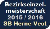 Bezirkseinzelmeisterschaft SB Herne-Vest