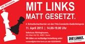 4. Schnellschachturnier um den Fritz-Constantin-Gedächtnispreis